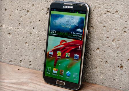 Das neue Samsung Galaxy Note III Modell soll ein noch größeres Display erhalten.