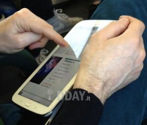 Das Bild zeigt das neue Samsung Galaxy Note 8 Tablet
