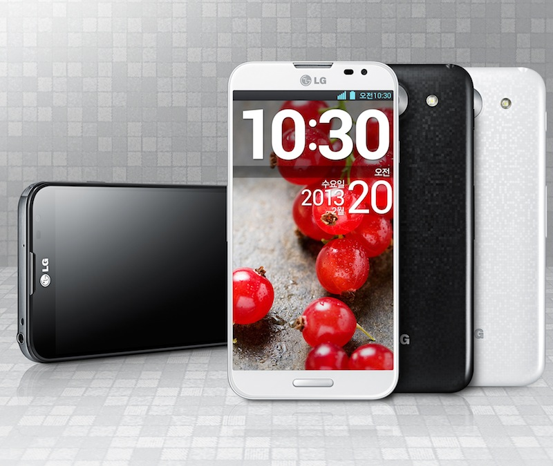 Das neue LG Optimus G Pro mit Full HD, 13 MP Kamera LTE & NFC