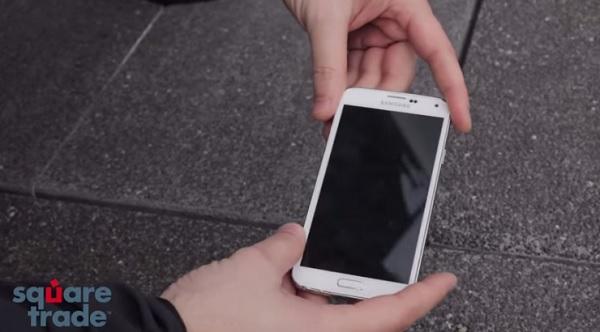 Samsung Galaxy S5 Sturztest