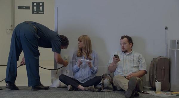 Samsung Werbung iPhone Akkulaufzeit