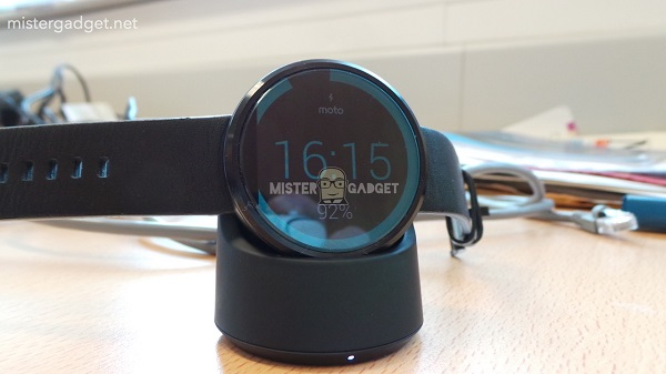 Moto 360 Smartwatch Ladestation