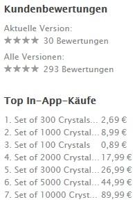 App Store In App Kauf
