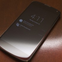 Nexus 6 mit Moto X Feature Ambient Light