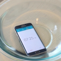 Samsung Galaxy S6 edge Wassertest
