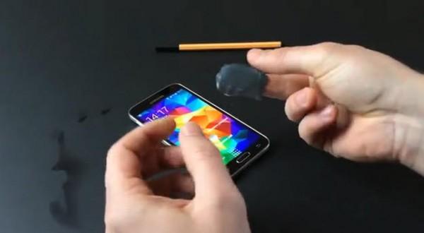 Galaxy S5 Fingerabdruckscanner