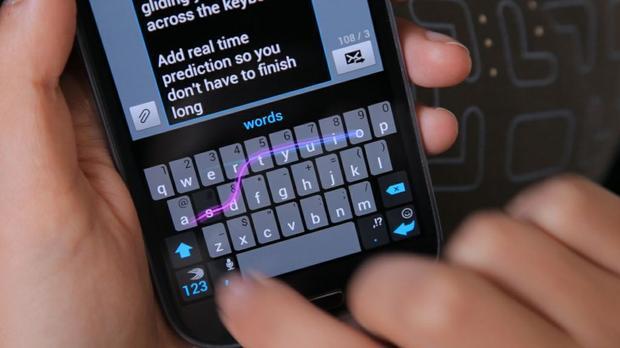 SwiftKey Samsung Galaxy Phone