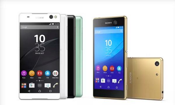 Sony Xperia C5 Ultra und Xperia M5