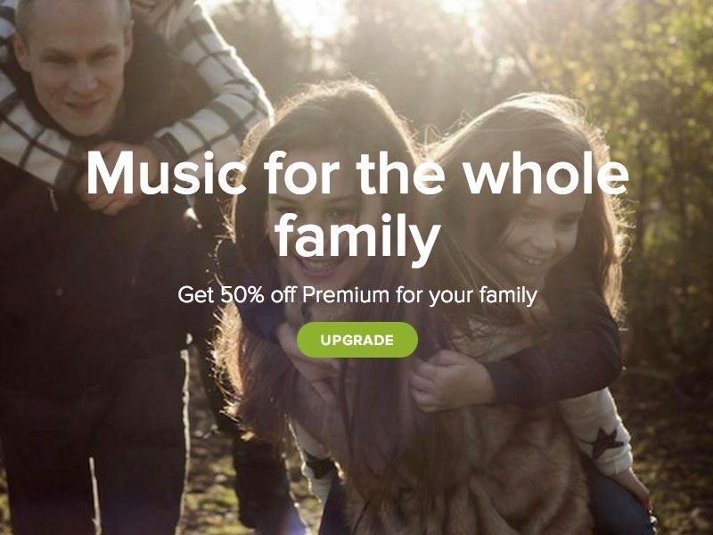 Spotify Family Sharing