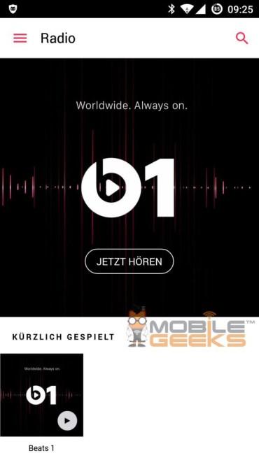 Apple Music für Android 3