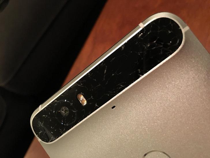 Google Nexus 6P Glasscheibe zerbrochen