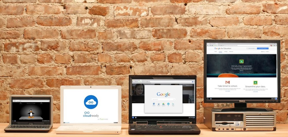 CloudReady Chrome OS Betriebssystem 2