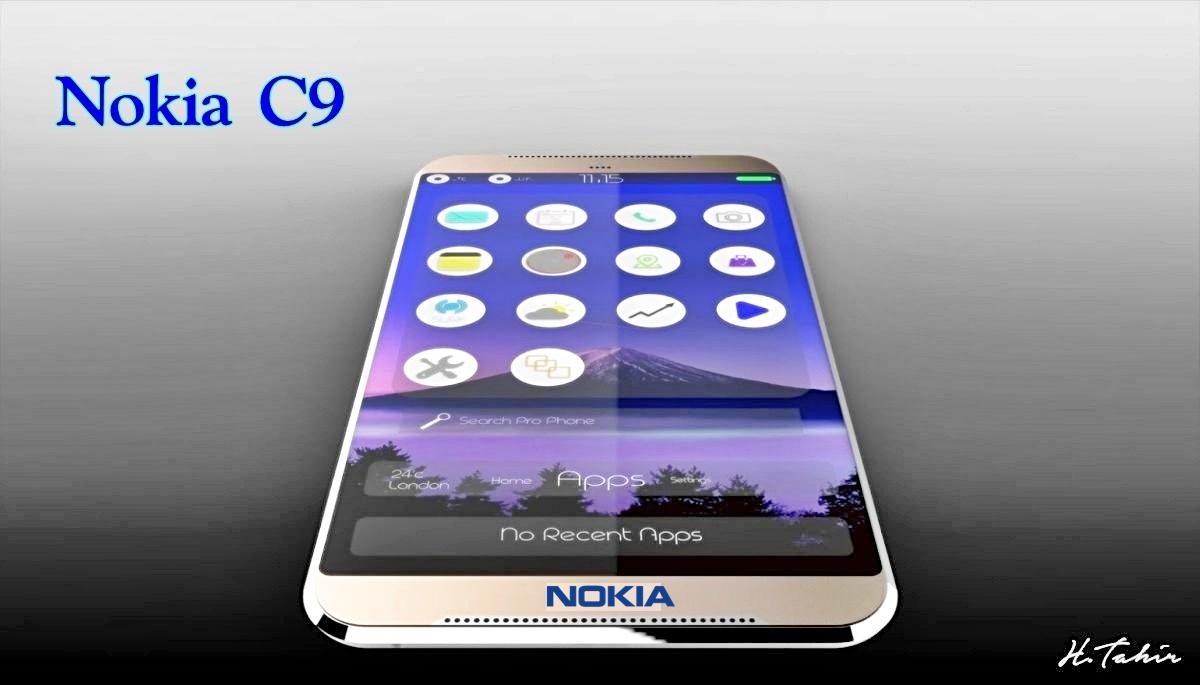 Nokia C9 Mockup