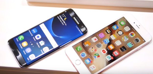 Samsung Galaxy S7 edge und Apple iPhone 6s Plus