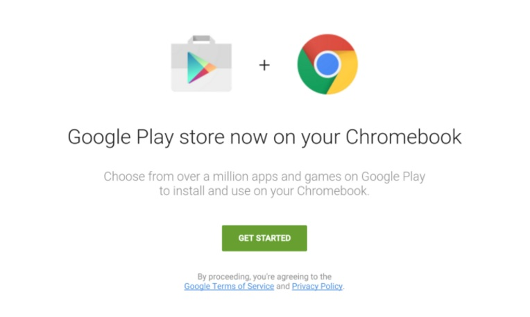 Google Chromebook Play Store