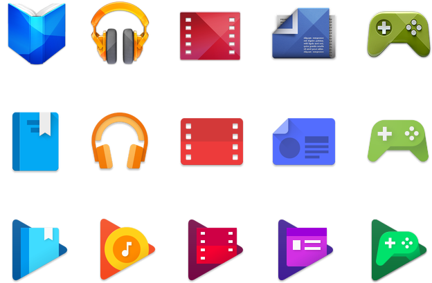 Play Store Icons
