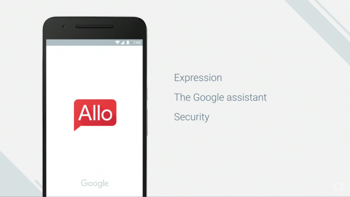 Google Allo Messenger Chat App