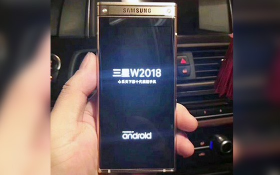 Androidkanal De Samsung Flip Phone Leak Zeigt Bilder Des